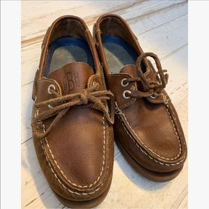 G.H. Bass leather boat shoes